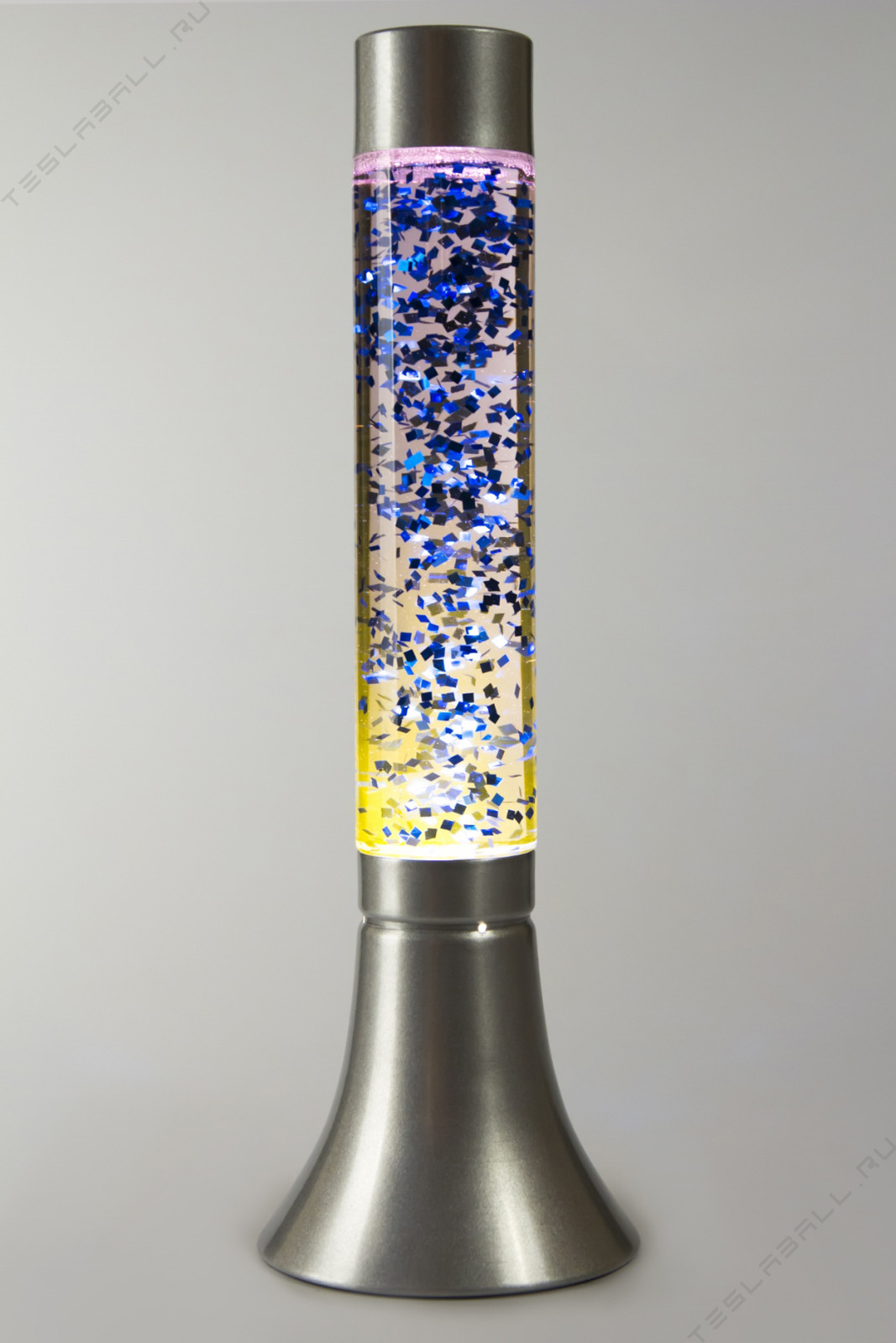 Лава лампа с блёстками